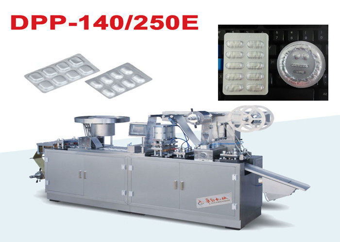Cold Forming Aluminium Foil Alu Alu Blister Packing Machine For Alu PVC Blister
