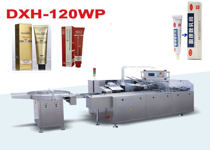 Pharmaceutical Ointment Automatic Cartoning Machine With PLC Control System