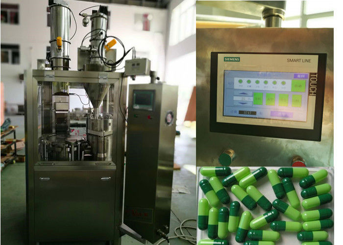 High Speed Full Automatic Capsule Filling Machine With Siemens PLC CE Approved
